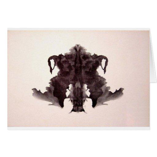 La tinta de la prueba de Rorschach borra la piel a Tarjetón