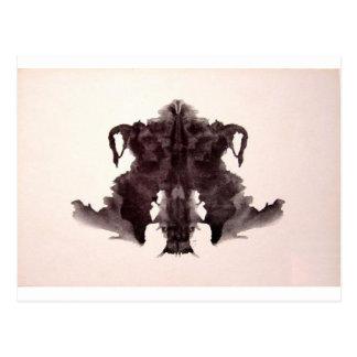 La tinta de la prueba de Rorschach borra la piel a Tarjetas Postales