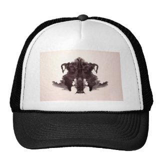 La tinta de la prueba de Rorschach borra la piel Gorro
