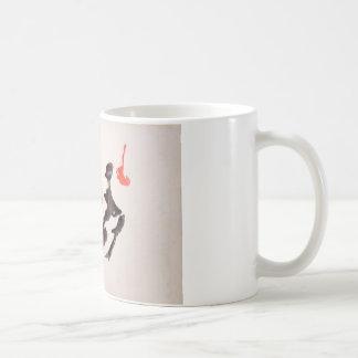 La tinta de la prueba de Rorschach borra la placa  Taza De Café
