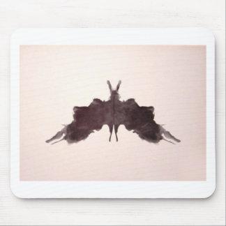 La tinta de la prueba de Rorschach borra la polill Tapetes De Ratones