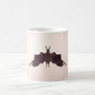 La tinta de la prueba de Rorschach borra la polill Tazas