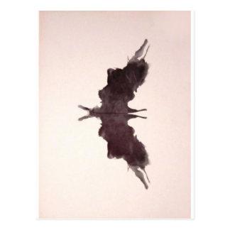 La tinta de la prueba de Rorschach borra la Postal