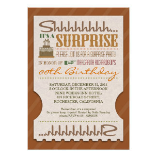 la tipografía única de la fiesta de cumpleaños de  comunicados