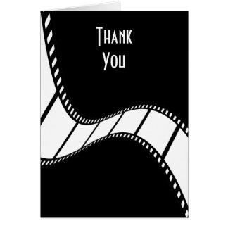La tira de la película le agradece tarjeta de felicitación