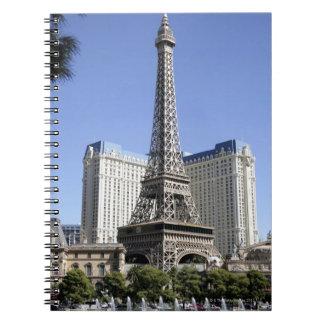 La tira, París Las Vegas, hotel de lujo Cuaderno