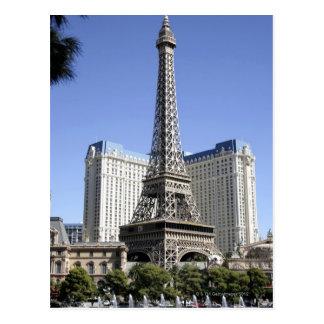 La tira, París Las Vegas, hotel de lujo Tarjeta Postal