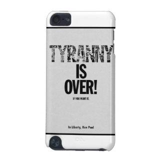 La tiranía ha terminado si usted la quiere liberta funda para iPod touch 5G