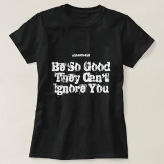 La TIZA de NJF no puede ignorar la camiseta
