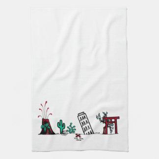 La toalla del mapa