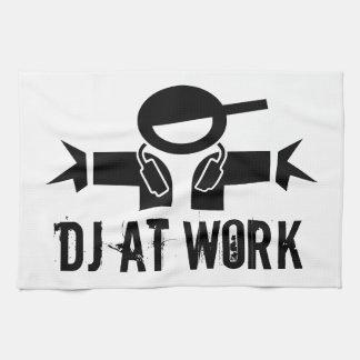 La toalla el | DJ del disc jockey adapta con lema
