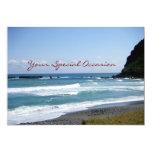 La Todo-Ocasión hermosa de la playa del día invita Invitación 12,7 X 17,8 Cm