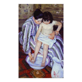 La Toilette, Mary Cassatt Poster