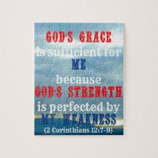 La tolerancia de dios es suficiente puzzles