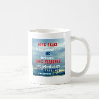 La tolerancia de dios es suficiente taza
