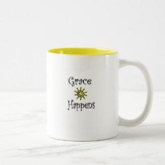 La tolerancia sucede taza de café