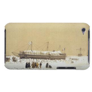 La Tonnante de la batería de flotación en el hielo iPod Case-Mate Cárcasas