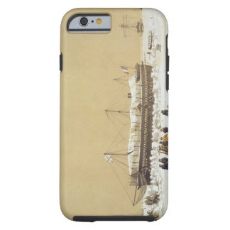 La Tonnante de la batería de flotación en el hielo Funda De iPhone 6 Tough