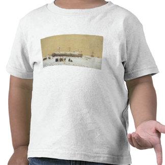 La Tonnante de la batería de flotación en el hielo Camiseta