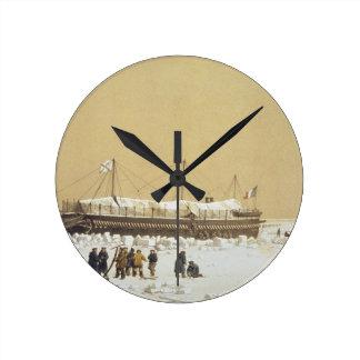 La Tonnante de la batería de flotación en el hielo Reloj