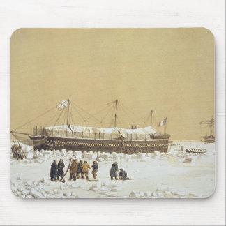 La Tonnante de la batería de flotación en el hielo Tapete De Ratón