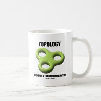 La topología requiere una imaginación torcida el taza de café