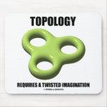 La topología requiere una imaginación torcida (el  tapete de ratón