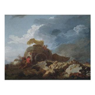 La tormenta, c.1759 tarjetas postales