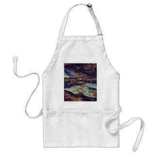 La tormenta del mar por Bruegel D. Ä. Pieter Delantal