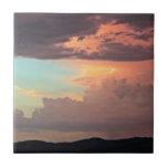 La tormenta en colores pastel teja
