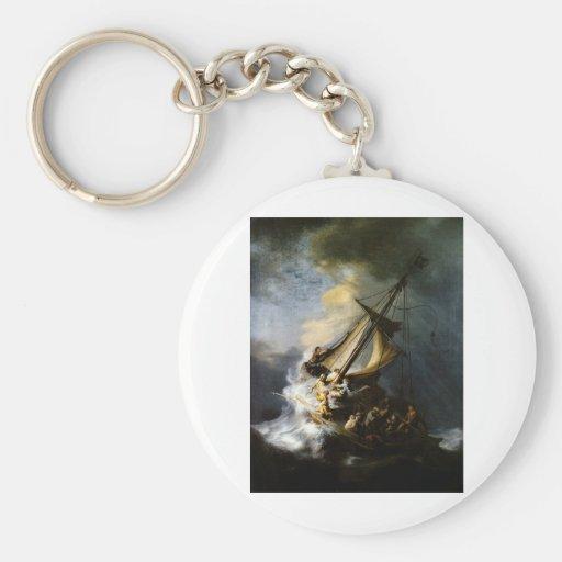La tormenta en el mar de Galilea Llaveros Personalizados