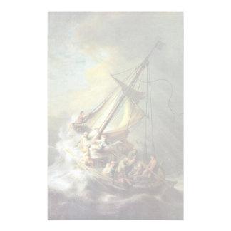 La tormenta en el mar de Galilea. Por Rembrandt Va Papelería Personalizada