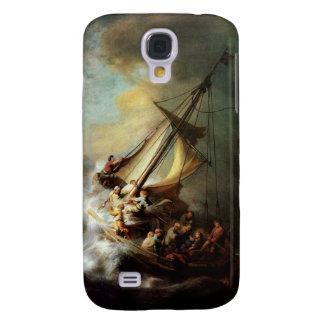 La tormenta en el mar de Galilea Rembrandt G3 Funda Para Galaxy S4