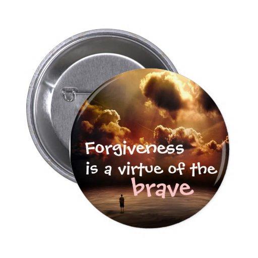 la tormenta, es una virtud del, perdón, valiente pin