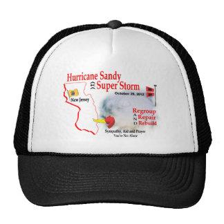 La tormenta estupenda de Sandy del huracán reagrup Gorros Bordados