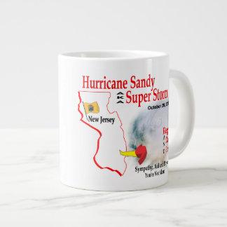 La tormenta estupenda de Sandy del huracán reagrup Tazas Extra Grande