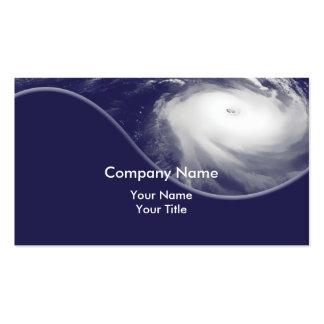 La tormenta Shutters tarjetas de visita