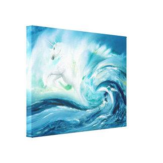 La tormenta trae la lona estirada los regalos lona envuelta para galerías