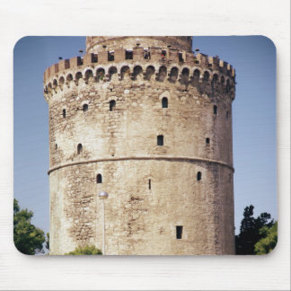 La torre blanca, construida durante mousepads