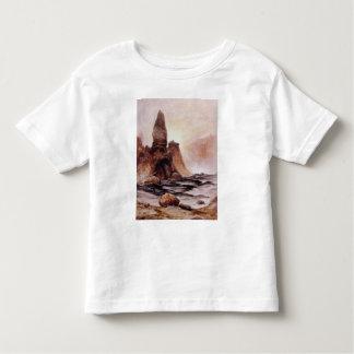 La torre cae en Yellowstone - 1876 Playera De Bebé