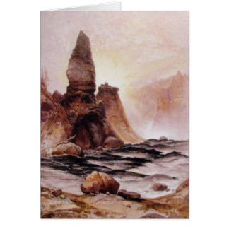 La torre cae en Yellowstone - 1876 Tarjeta Pequeña