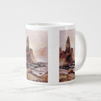 La torre cae en Yellowstone - 1876 Taza De Café Grande