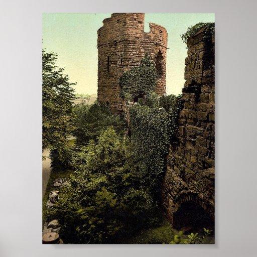 La torre de agua, obra clásica Photochr de Chester Impresiones