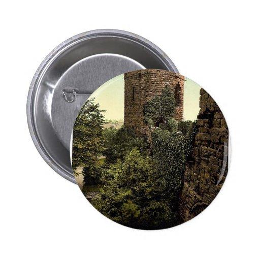 La torre de agua, obra clásica Photochr de Chester Pin Redondo 5 Cm