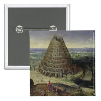 La torre de Babel, 1594 Pin Cuadrado