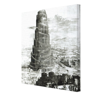 La torre de Babel, 1679 Lona Estirada Galerias