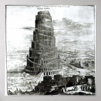 La torre de Babel, 1679 Posters