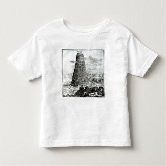 La torre de Babel, 1679 Playera De Bebé