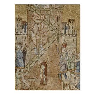 La torre de Babel, del atrio Postal