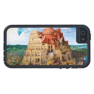 La torre de Babel Pieter Bruegel el más viejo arte Funda Para iPhone SE/5/5s